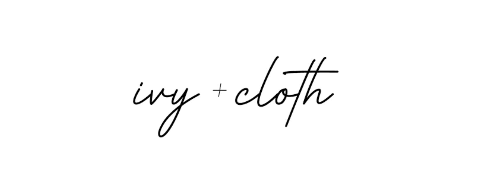 Ivy + Cloth Discount Code 2021