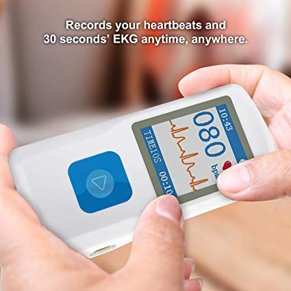 HEALTHWOOD Best Portable ECG/EKG Monitor