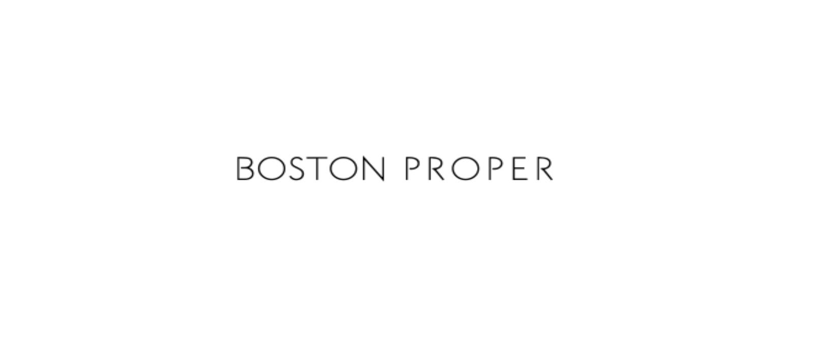 Boston Proper Discount Code 2021