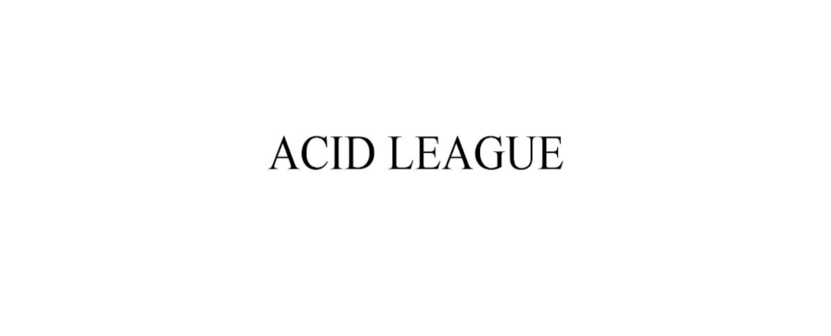 Acid League Discount Code 2021