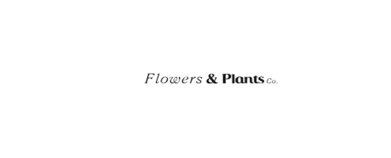 Flowers & Plants Co. UK Discount Code 2021