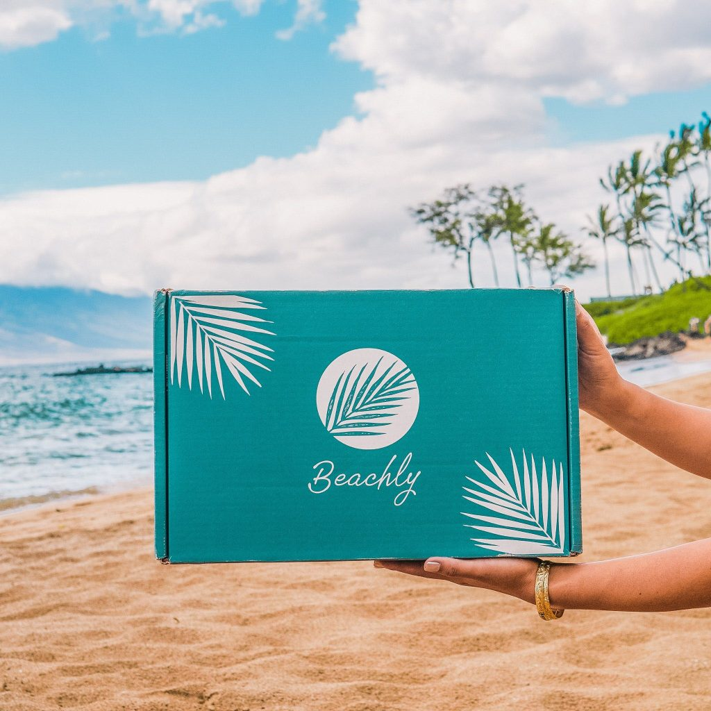 unboxing beachly spring box
