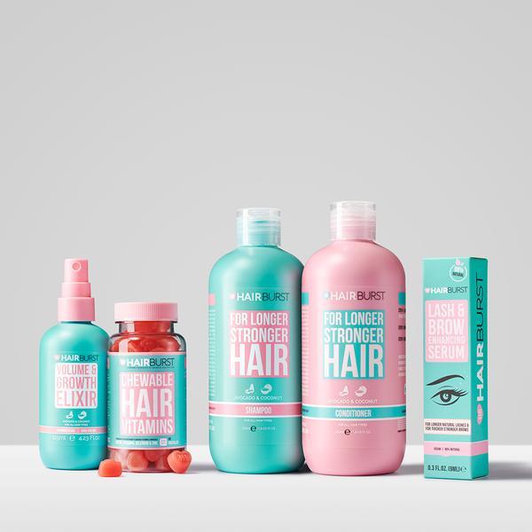 Hairburst shampoo vitamins