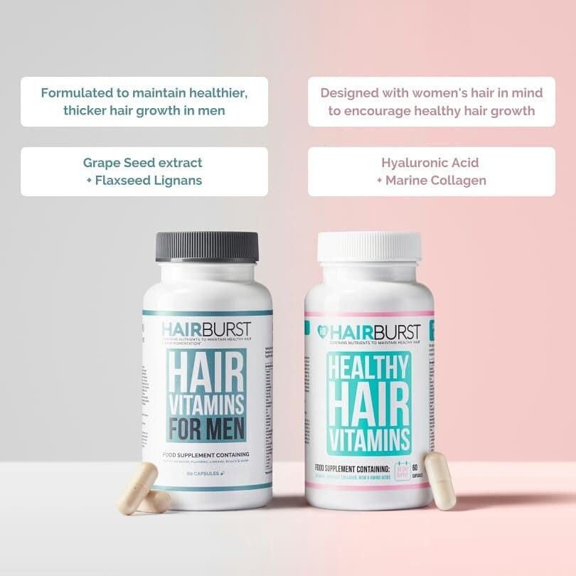 Hairburst vitamin capsules