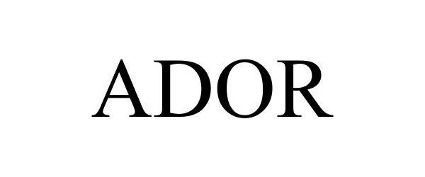 ADOR Coupon Code 2021