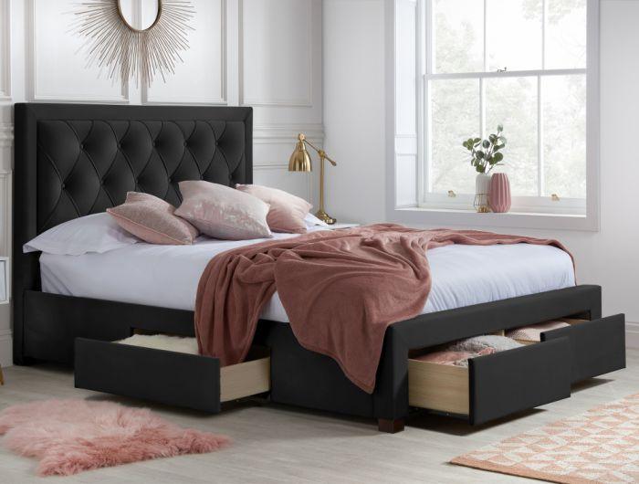 Happy bed - velvet