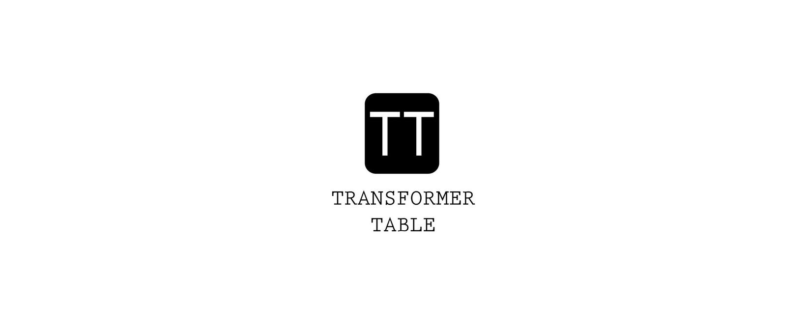 Transformer Table Coupon Code 2021