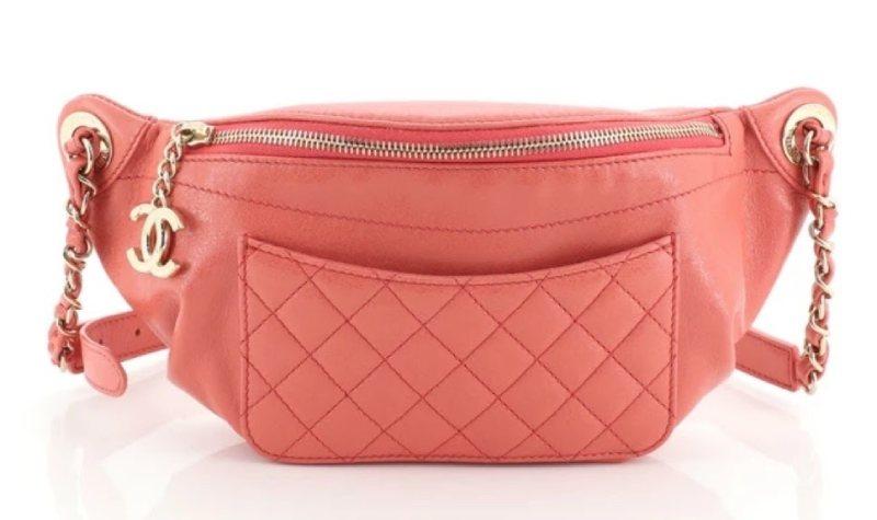 Chanel Front Pocket Waist Bag