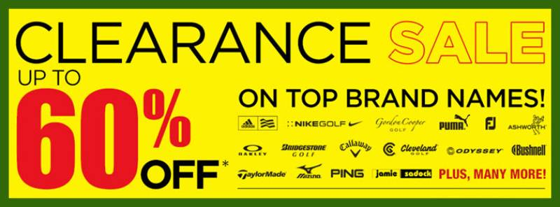 Golf Town Military Discount – Clearance Sale