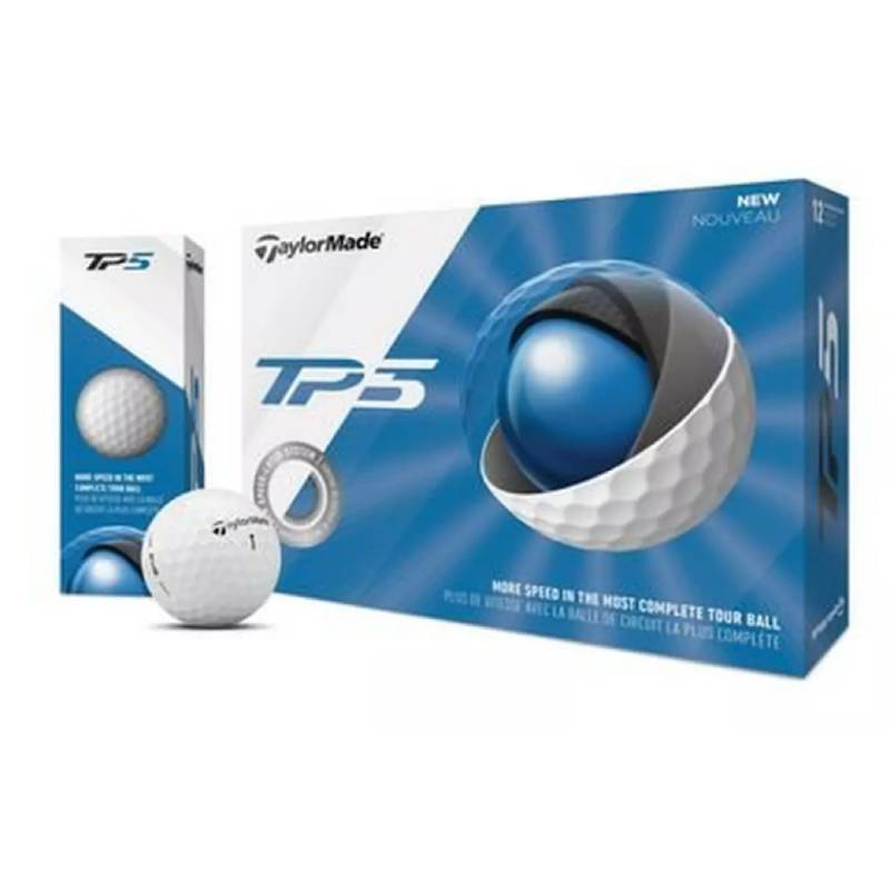 Prior Generation TP5 Golf Balls (White) – Taylormade