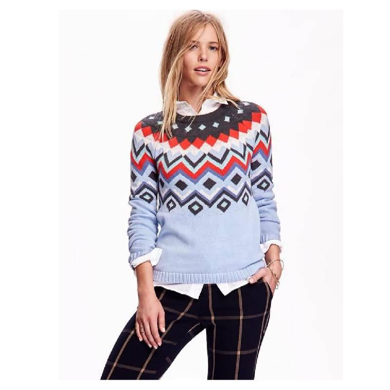 Patterned Sweaters
