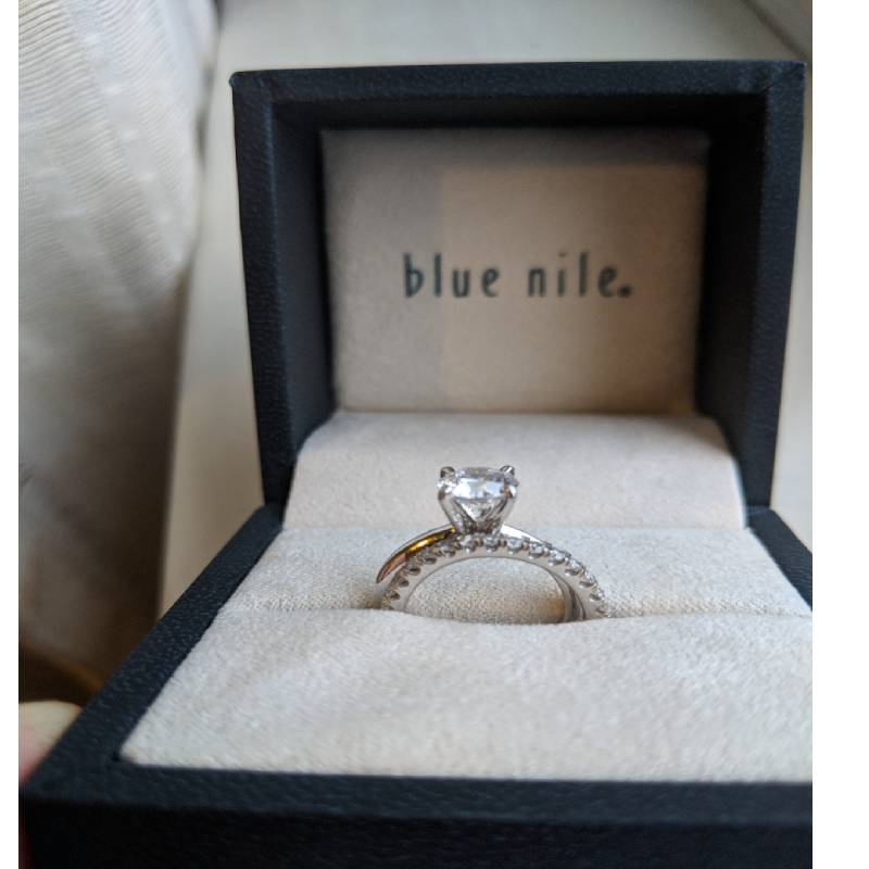 Blue Nile Rings Collection
