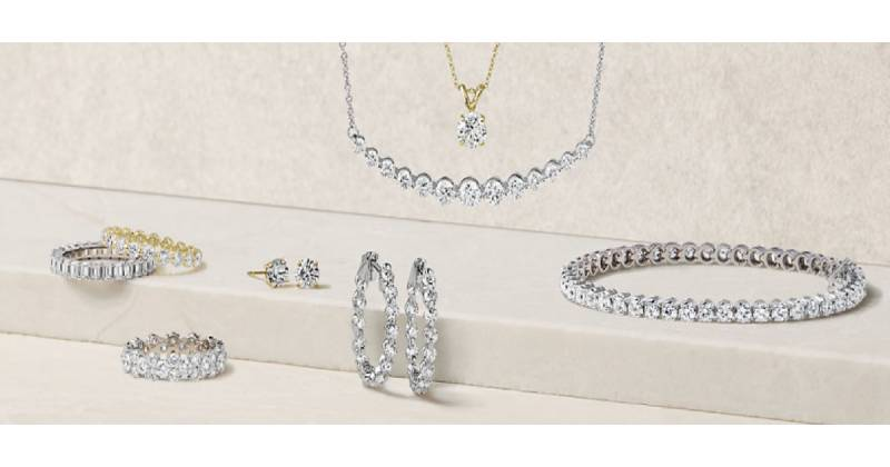 Blue Nile Jwellery Collection
