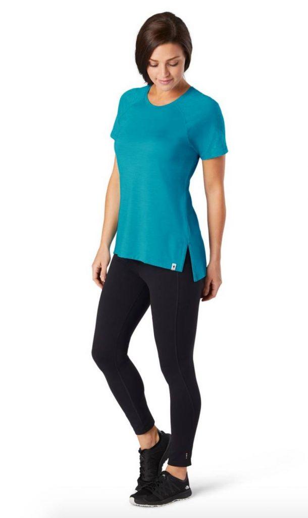 Merino 150 Base Layer Colorblock Short Sleeve for Women