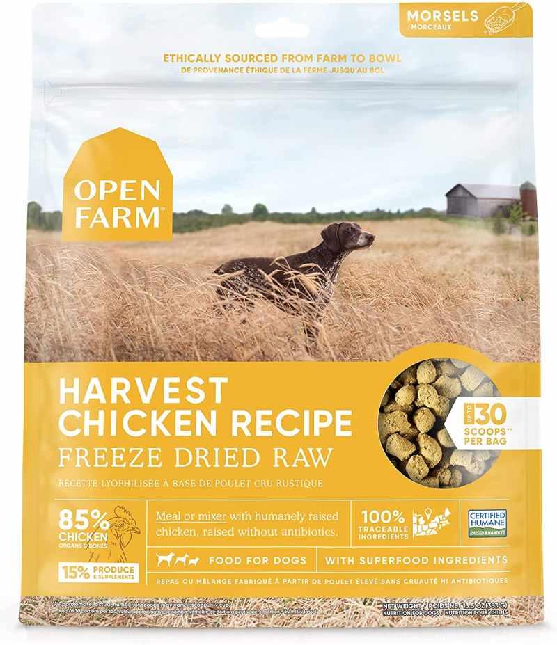 Freeze-dried Raw Food
