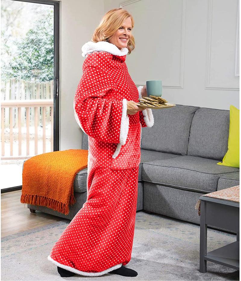 COzyRosie Wearable Blanket with Sleeves