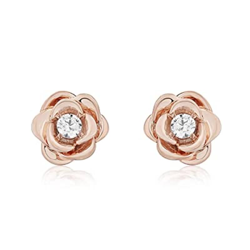 Accent Belle Rose Earrings