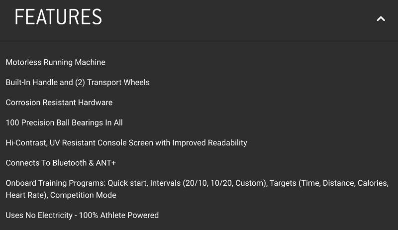 Assault AirRunner Features